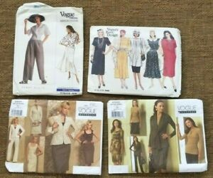 lot-NEW-VOGUE-wardrobe-V1020-V1021-American-Designer-2318-Patterns-6-12-UC-FF