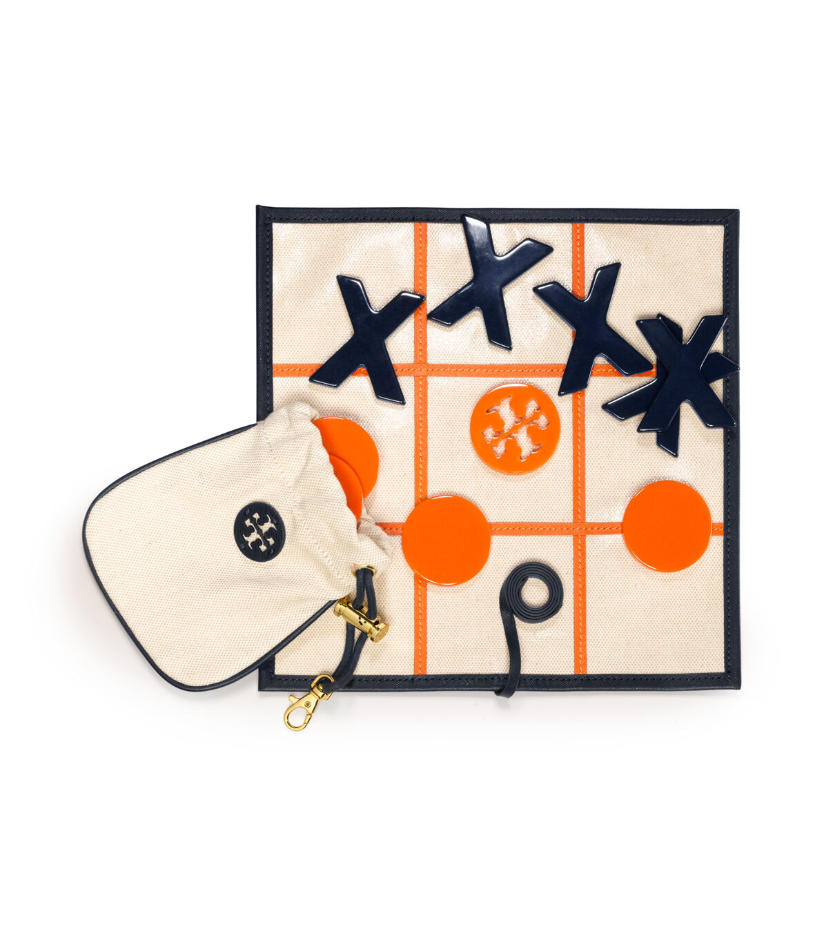 NEUF avec étiquette Tory Burch Tic Tac Toe Jeu, 100% authentique, home collection, rare