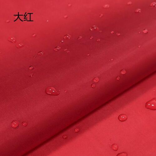 UV Resistant 150cm*100cm Canvas Fabric Waterproof Rip Stop Outdoor Fabric