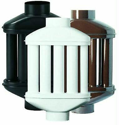 Scambiatore di calore a 8 canne Ø 120 mm 12 cm marrón per stufa pellet