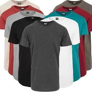 722bd9b04077e3 Das Bild wird geladen Urban-Classics-Herren-T-Shirt-Long-Tee-Oversize-