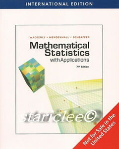 NEW-3-Days-AUS-Mathematical-Statistics-with-Applications-7E-Wackerly-7th-Edition