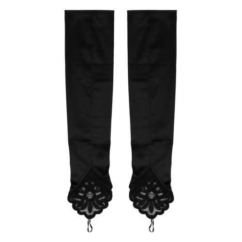Gatsby 1920s Long Evening Opera Gloves Fancy Dress Flapper Costume Accessory