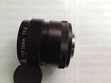 CANON TV LENS,f=35mm f1.2 Objective PHF 35 mm F=1:1.2 from JAPAN #G801 XH