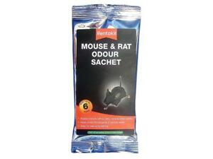 Responsable Rentokil Mouse & Rat Odour Sachet One/single Pack Masques Odeur De Souris Et Rats-afficher Le Titre D'origine