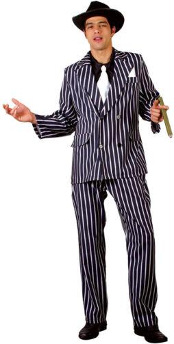 Don vito parrain gangster costume nouveau-messieurs Carnaval Déguisement KO