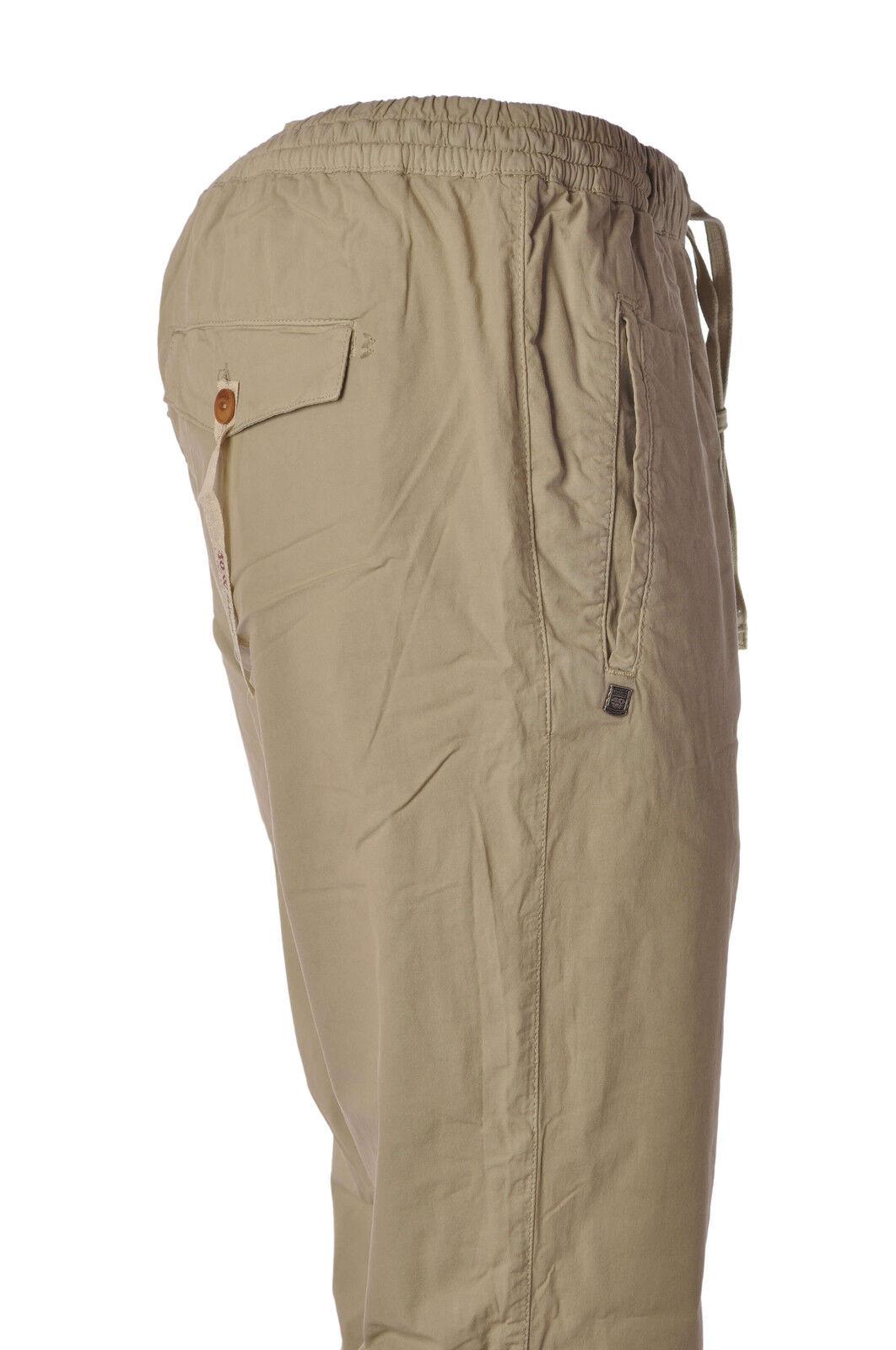 40 Weft  -  Pantaloni - men - Beige - 3540323A185127