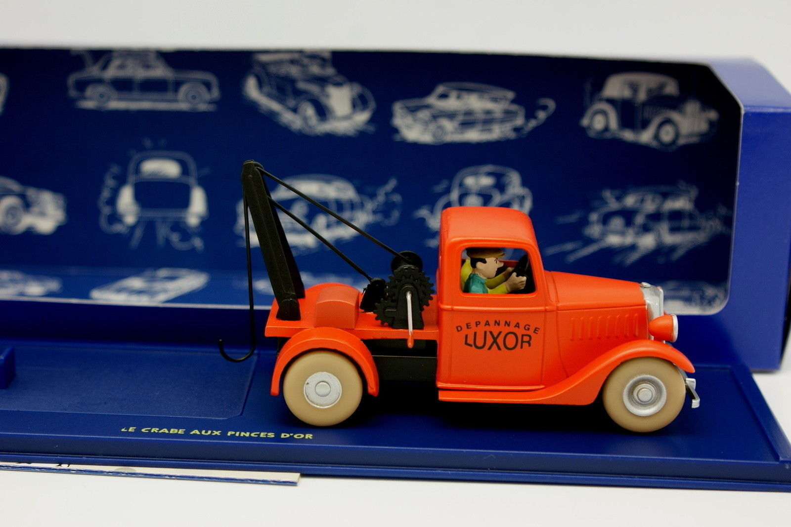 En Coche Tintin Tintin Tintin 1 43 - El camión de remolque - Cangrejo a La Pinzas de oro 33d073