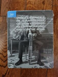 "STANLEY KUBRICK'S ""Dr. Strangelove"" Blu-Ray Steel book NEW STLL SEALED!!"