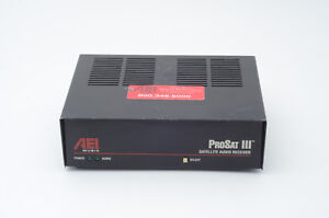 Details about AEI Music System (DMX) Prosat III Satellite Audio Receiver  021875