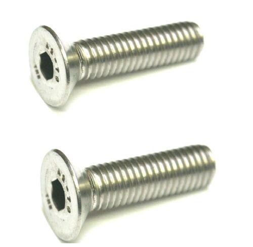 M5 X 12 Socket Countersunk Bolts CSK Allen screws A2 Stainless 20 PACK DIN 7991