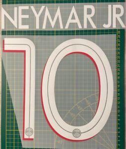 FLOCAGE Neymar #10 Paris Domicile 2020-2021 Home Nameset. Champions League