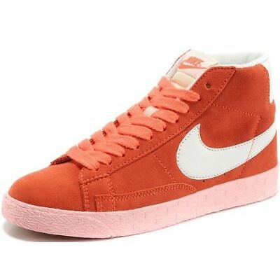 804ce616610a ... best price nike blazer mid vintage orange white womens suede trainers  1d843 5839a