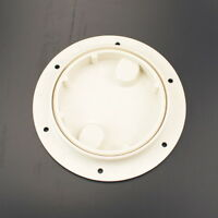 6'' Abs Round Deck Hatch Cover Lid Screw Out Deck Marine Boat Motorhome Special