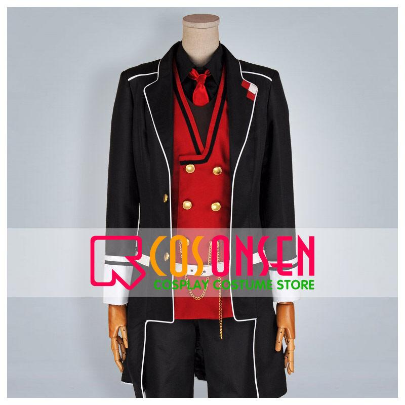 Diabolik Lovers Ayato Sakamaki Cosplay Costume Cosonsen Full Set All Sizes