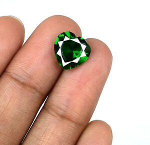 Valentine's Gift Colombian Emerald Natural Gems 2.70 Ct Heart Shape Certified