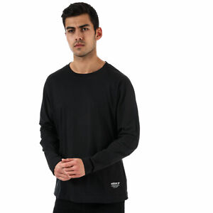 adidas-Originals-T-Shirt-NMD-LS-Noir-Homme