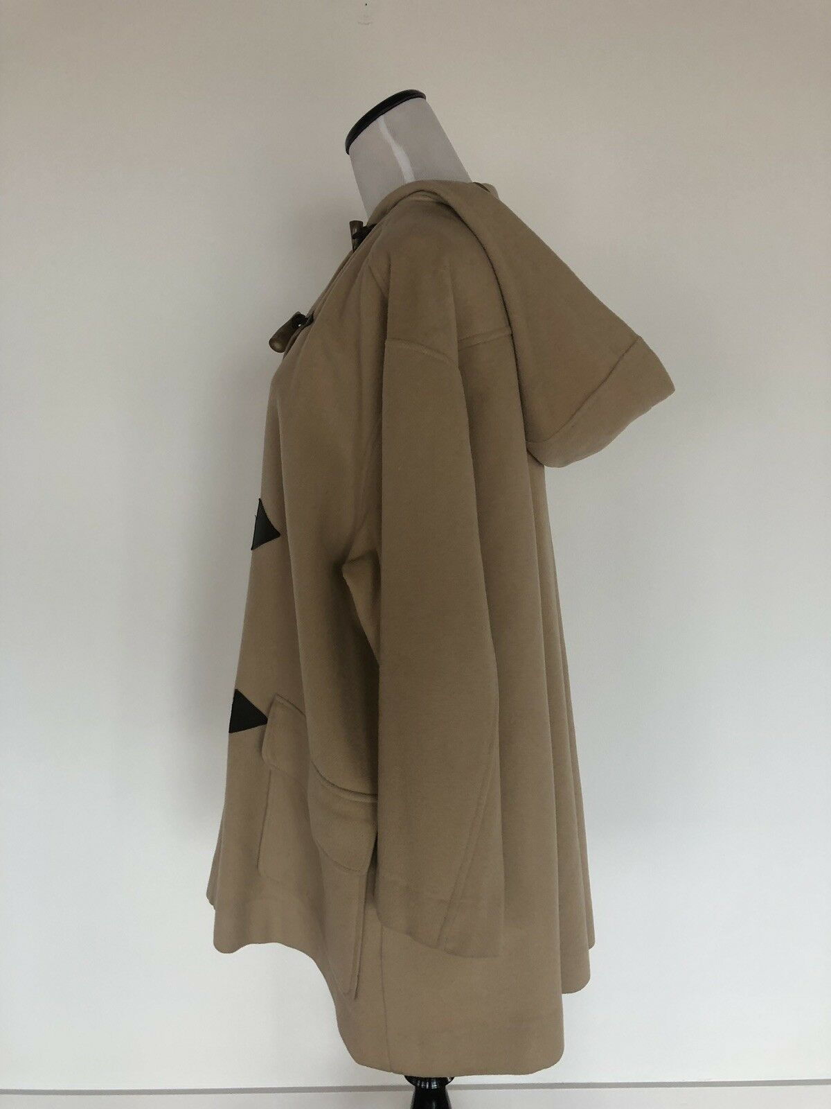 Thomas Burberry Toggle Swing Jacket Hood Duffel C… - image 4