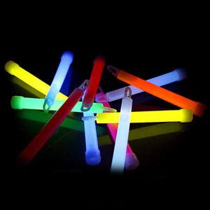 50-Knicklichter-150-x-15-mm-Leuchtstaebe-50-Baender-im-6-Farben-Mix