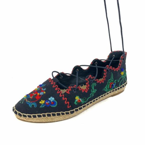 Tory Burch Women's Shoes Sonoma Embroidered Ghilli