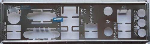 ASUS I//O IO SHIELD BLENDE BRACKET  H170I-PLUS D3