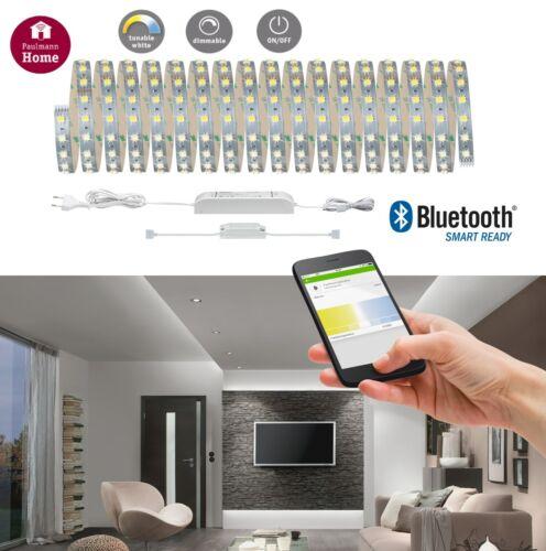 Paulmann SmartHome MaxLED Tunable White Basisset BLE 10m 47W App oder FB Steuern