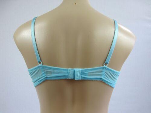Lovable Ladies Tango Underwire Bra sizes 14C 14D 16D Colour Porcelain Blue