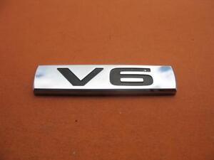 02 03 04 05 06 NISSAN ALTIMA V6 REAR LID CHROME EMBLEM LOGO BADGE SIGN SYMBOL