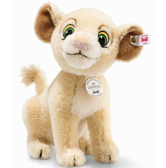 Disney The Lion King 'Nala' by Steiff - limited edition lioness cub - 355370