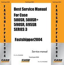 case 580 sr 580 super r 595 sr 695 sr tractor backhoe loader tlb rh ebay com 695 Tractor 695 Tractor