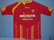 RC Lens / 2009-2010 Home - REEBOK - VTG JUNIOR Shirt / Jersey. Size: 152 cm, 12y