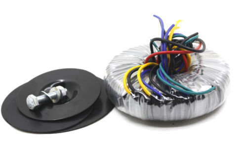 200VA Ultra thin Toroid transformer 0-115V  0-115V TO 24V-0-24V 12V-0-12V 0-6V