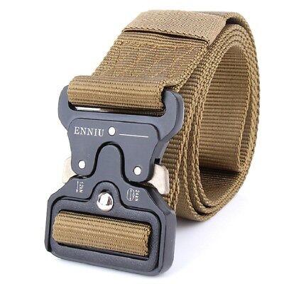 4.3CM Cobra Deduction Outside The Belt Tactical Nylon Belt Outdoor Training Belt