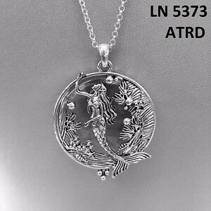 Silver finished sea ocean life mermaid design magnifying glass image is loading silver finished sea ocean life mermaid design magnifying aloadofball Image collections