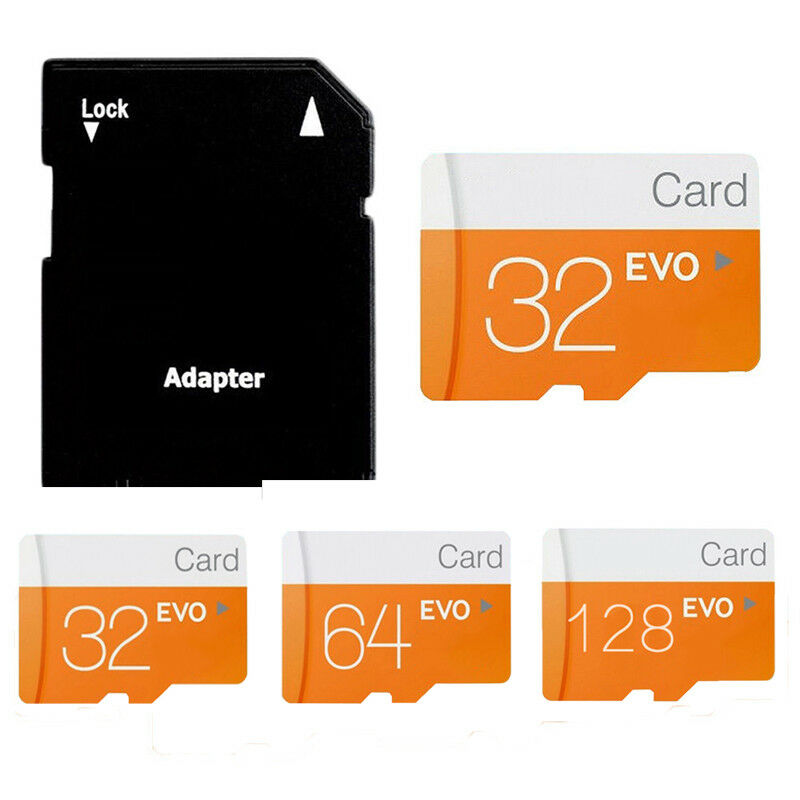 Micro SD Card 32GB 64GB 128GB Class 10 TF Flash Memory Card UK LH