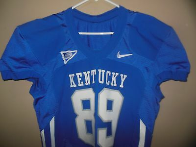 KENTUCKY WILDCATS  GAME USED  FOOTBALL JERSEY