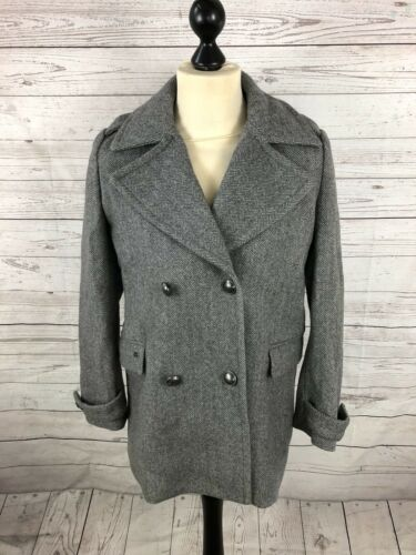 Superdry Grey Condition Coat Great Men's P Medium Pea qgYgwI