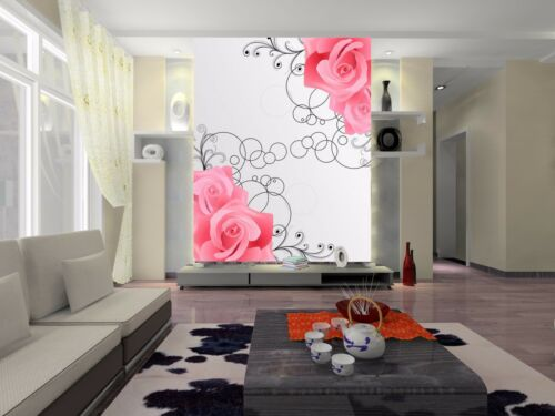Details about  /3D Flowers Vines Patterns 441 Wallpaper Decal Decor Home Kids Nursery Mural Home