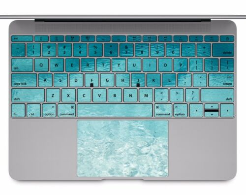Macbook Pro Air 13 15 keyboard Stickers cover Decal skins Water texture KB110