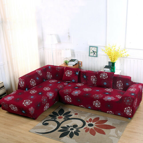 Perfect Fit 1//2//3//4 Seater Thick Stretch Polyester Couch Sofa Cover Protector US
