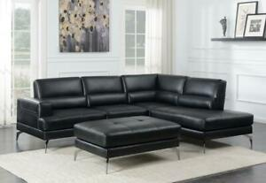 PRE-ORDER SALE !! BRAND NEW MODERN SECTIONAL WITH MATCHING  OTTOMAN JUST FOR $1399 @ Real Buy Furniture Saskatoon Saskatchewan Preview