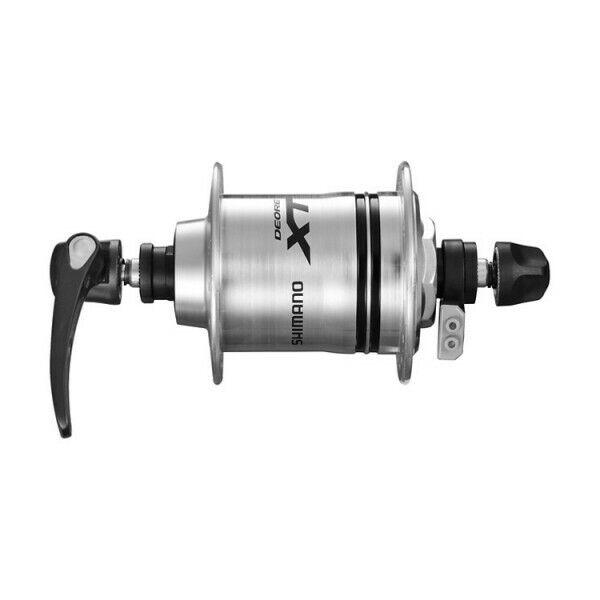 Shimano XT Nabendynamo DH-T780-1N 36 Loch 1,5 Watt silber inkl. QR