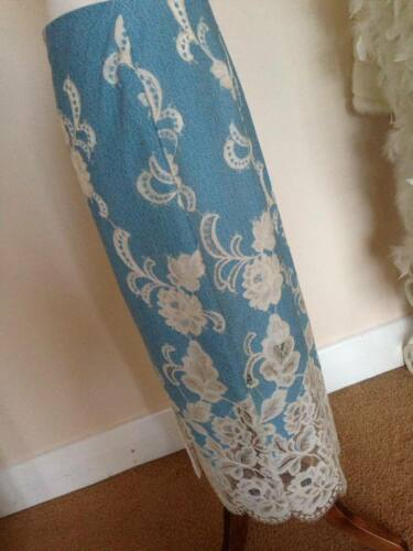Pencil Skirt Sold £59 5052299596523 Midi Completely River Ltd B Lace Island new out Edition 80xTvq