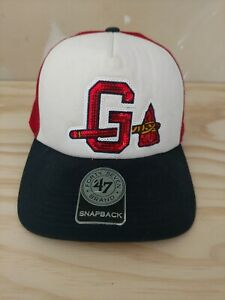 Gwinnett-Braves-Womens-baseball-hat-cap-039-47-brand-snapback-Atlanta-AAA-team