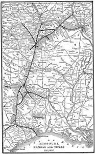 Hamilton and Dayton Railroad Map 1900 Cincinnati