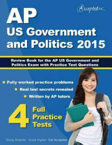 Ap Us Government And Politics 2015 Review Book For Ap United