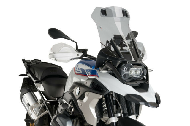 PUIG SCREEN TOURING WITH VISOR COMPATIBLE FOR BMW R 1250 GS HP 2020 LIGHT SMOKE