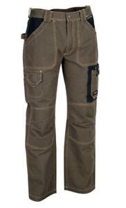 Caricamento dell immagine in corso  Pantaloni-pantalone-da-lavoro-canvas-100-cotone-COFRA- 98603779256