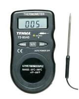 Thermometer Compact Pocket Size Temperature Range Tool Lcd Hvac Residential