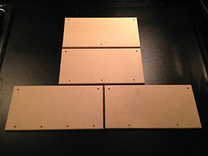 6 Blank 8x4034 Hi Quality MDF Wooden Plaques signs with extra holes along bottom - <span itemprop=availableAtOrFrom>Doncaster, South Yorkshire, United Kingdom</span> - No returns as these items are made to order Most purchases from business sellers are protected by the Consumer Contract Regulations 2013 which give you the right to can - Doncaster, South Yorkshire, United Kingdom